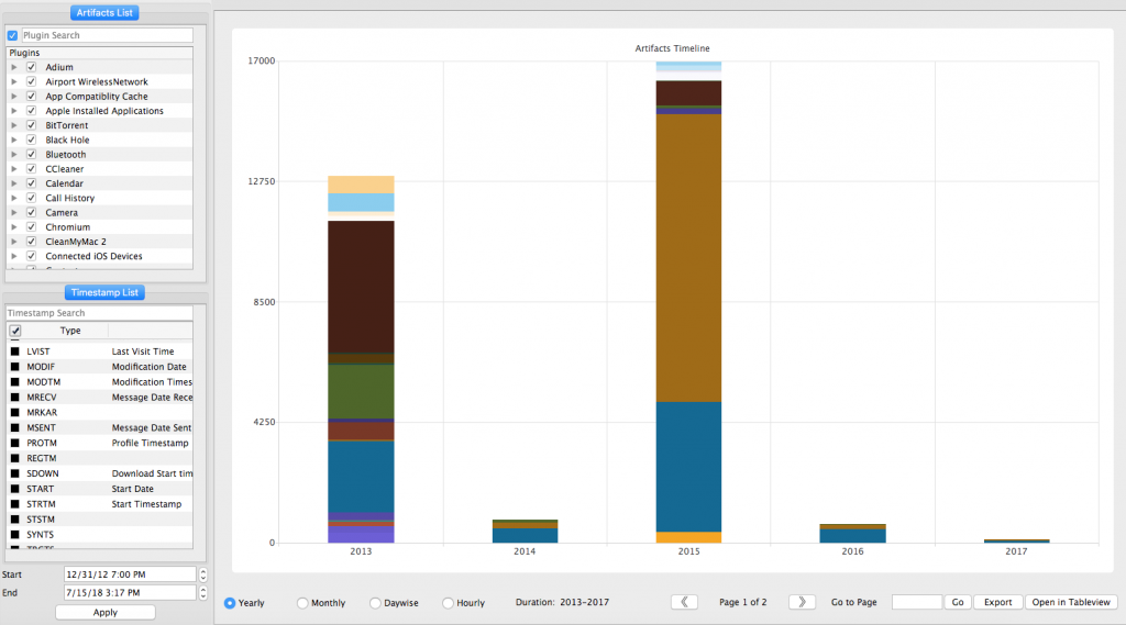 Windows, Mac, iOS, Android and Google Takeout Automated Analysis