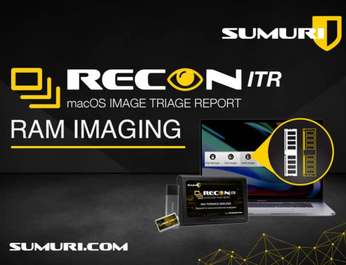 RAM IMAGING WITH RECON ITR
